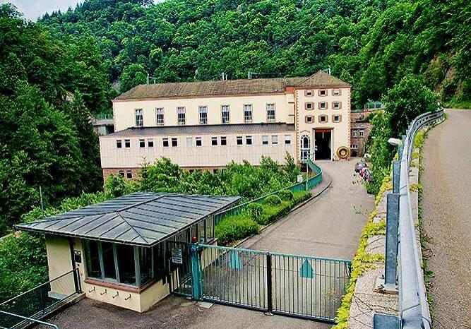 Das Kraftwerk Witznau ist die sogenannte Mittelstufe der Schluchseegruppe und wurde in den Jahren1939 bis 1943 gebaut.