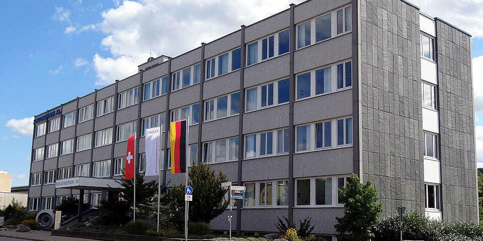 Das Gebäude der Hauptverwaltung in Laufenburg